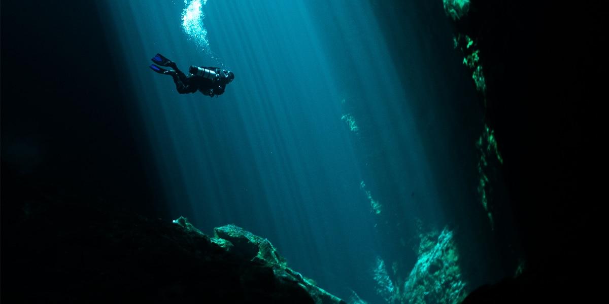 Cave Diving ดำดิ่งกับความมืด