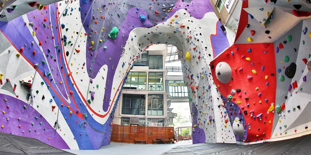 Urban Playground Climbing