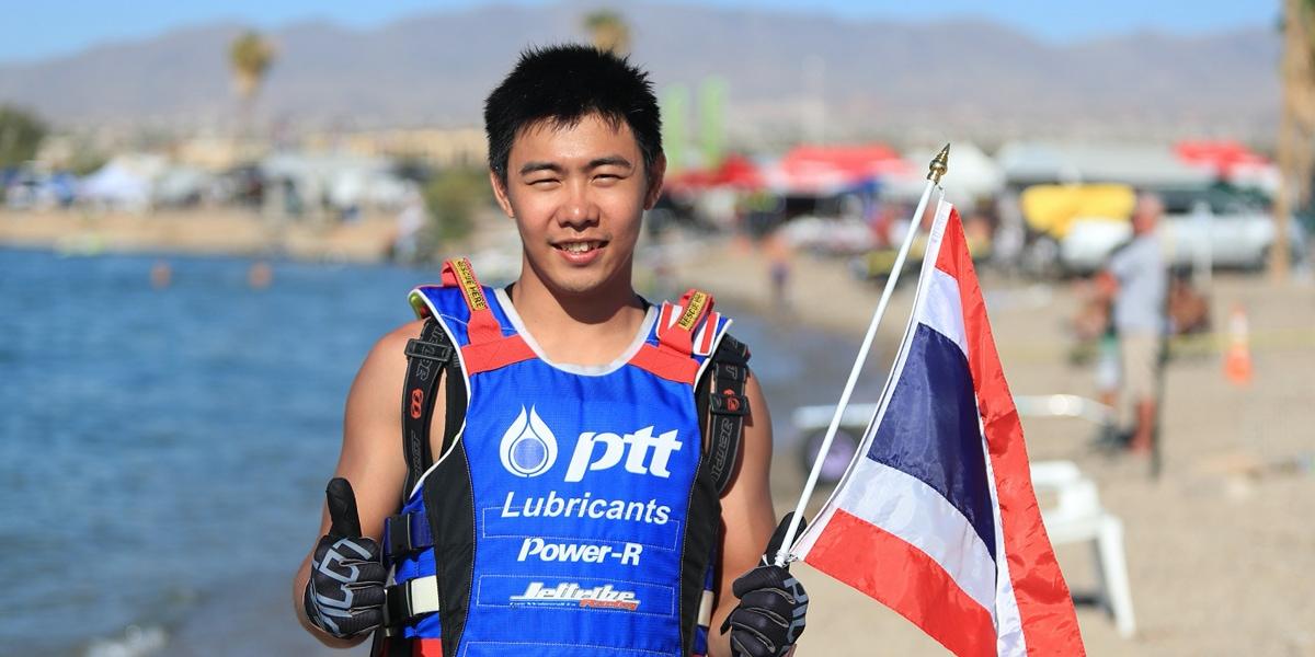 เพิ่มพล ธีรพัฒน์พาณิชย์ สุดยอดนักเจ็ตสกีสัญชาติไทยดีกรีแชมป์โลก