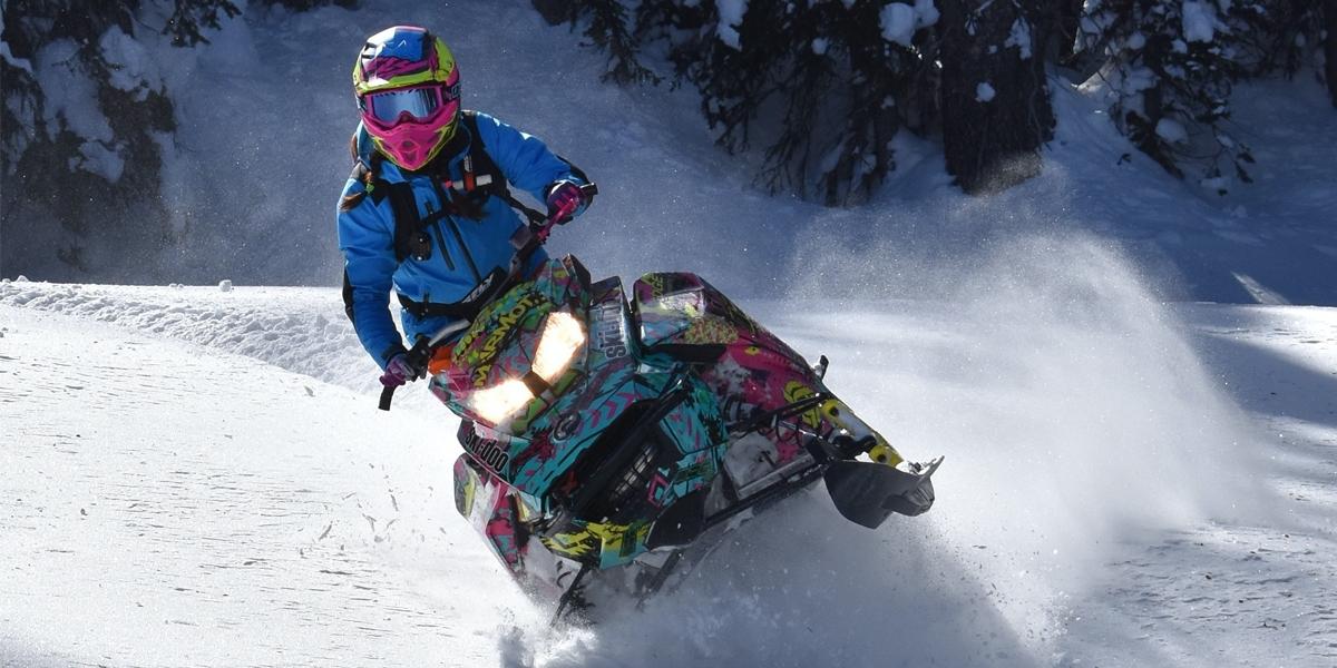 Snowmobile ขี่ตะลุยฝ่าดงน้ำแข็ง