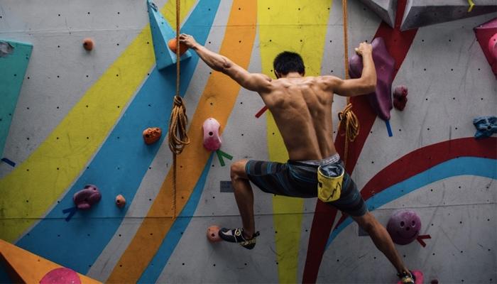 การเคลื่อนไหวขั้นพื้นฐานในการปีนหน้าผา