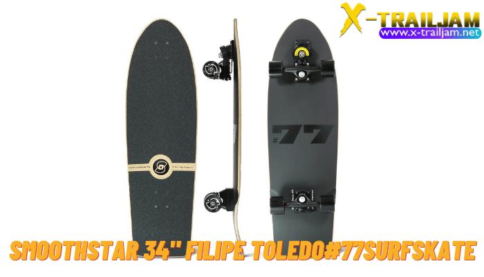 Smoothstar34 Filipe Toledo 77 Surfskate สำหรับใครที่กำลังมองหา Surfskate สุดเจ๋งสุด Rare แบบที่เรียกได้ว่าดีที่สุด หายากมากๆที่สุด