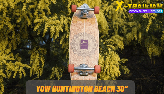 YOW Huntington Beach 30″ สำหรับใครที่กำลังมองหาSurfskate Boardคู่ใจที่อยากจะเอาไว้ไถไปทะเล หรือจะไถไปชมนกแถวบ้านก็ตามแต่YOWแบรนด์ดังจากสเปน