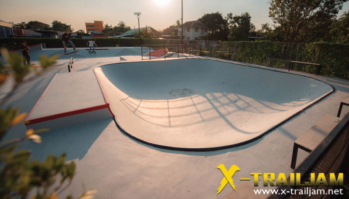 Dreg SkatePark ลานสเก็ตบอร์ดนนทบุรี