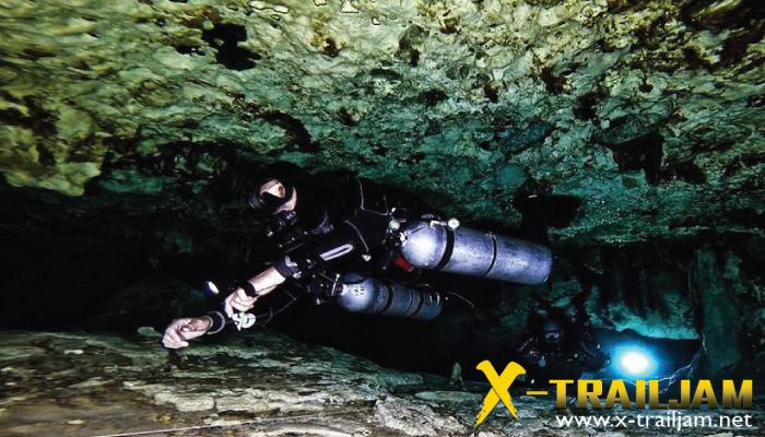Cave Diving กิจกรรมท้าทาย ในโลกใต้น้ำ